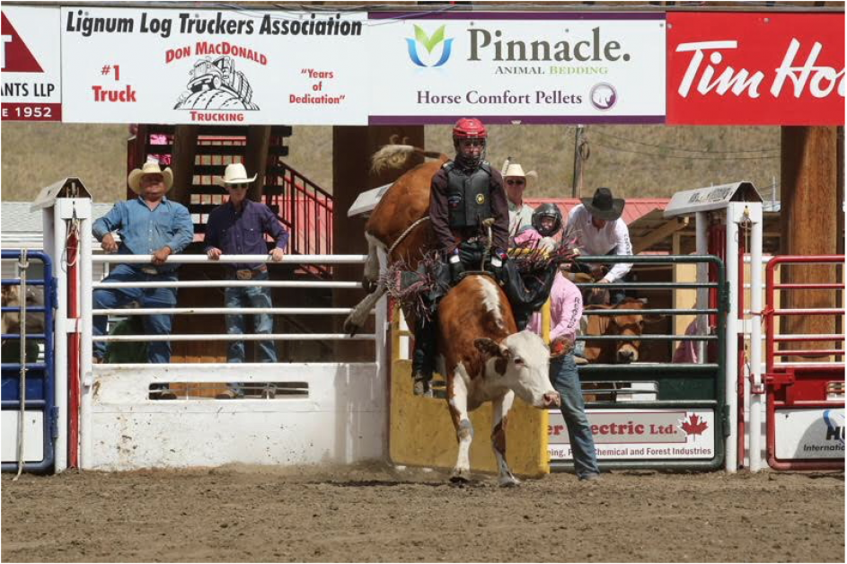 Matt Howard of Drumheller, AB, makes his third appearance at the Calgary Stampede