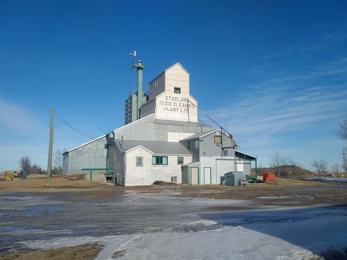 Delia Seed Cleaning Plant Starland County