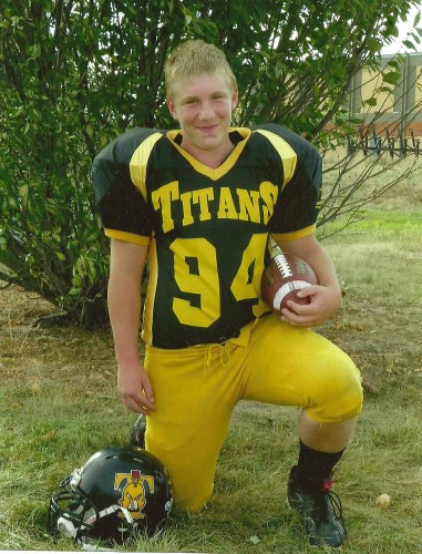 Local Titans player accepted into Ontario football academy