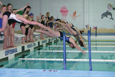 Swim club makes a big splash starting 2014