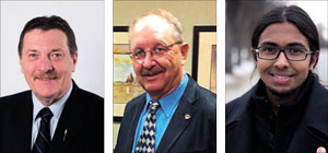 Provincial candidates line up for spring election