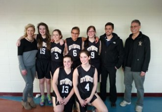 Senior girls Dynos playing for spot at zones