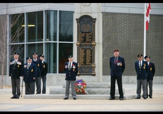 Honouring the fallen