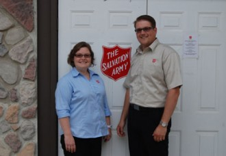 Salvation Army church welcomes new officers