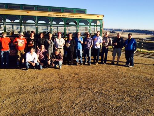 Scotch Club tours the Valley