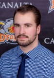 Drumheller Dragons player Cody Young commits to playing for the University of Alberta Augustana campus Vikings