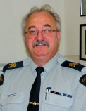 Drumheller's former RCMP Detachment commander has taken on some interesting roles as he transitions on to retirement.
