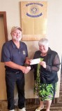 Drumheller Rotary Club donates to Youth Spark Fair