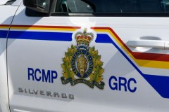 RCMP vehicle (mailphoto by Terri Huxley)
