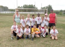 Under 9 Carbon Gold Medalists
