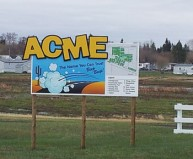 acme town sign