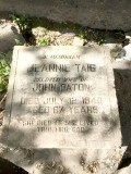 jeannie taig tombstone