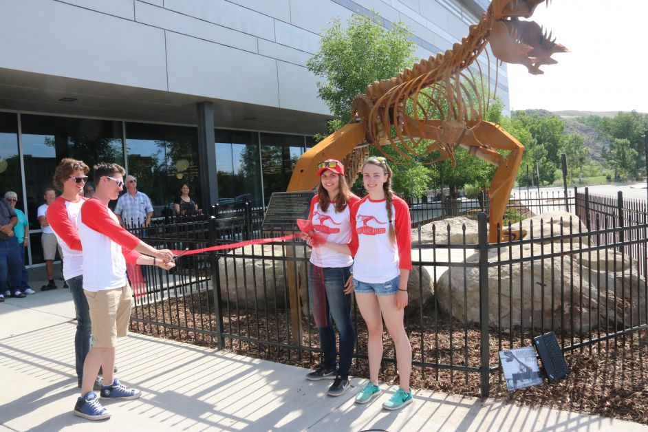 Dinosaur Dedication to Hensley