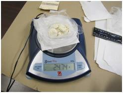 Drugs found at Drumheller Institution on July 6, 2017