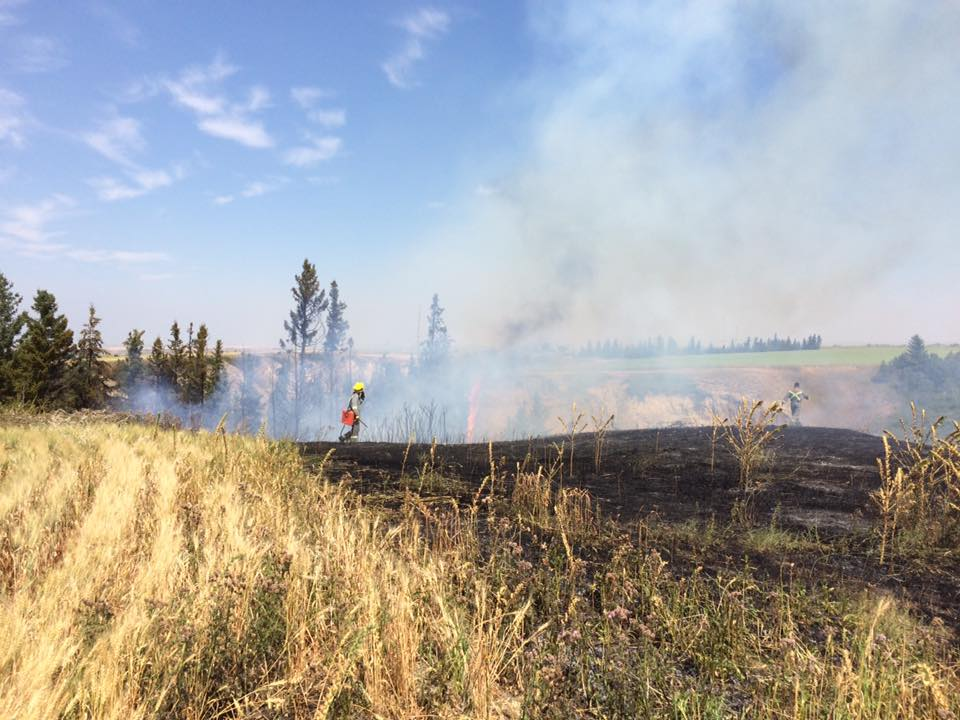 Coulee Fire 1
