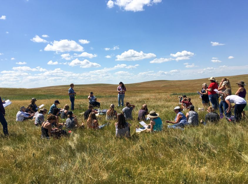 Women's Grazing School put on by Starland County