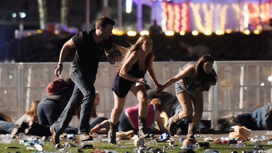 Las Vegas Attack, October 1, 2017. Photo Courtesy of Getty images