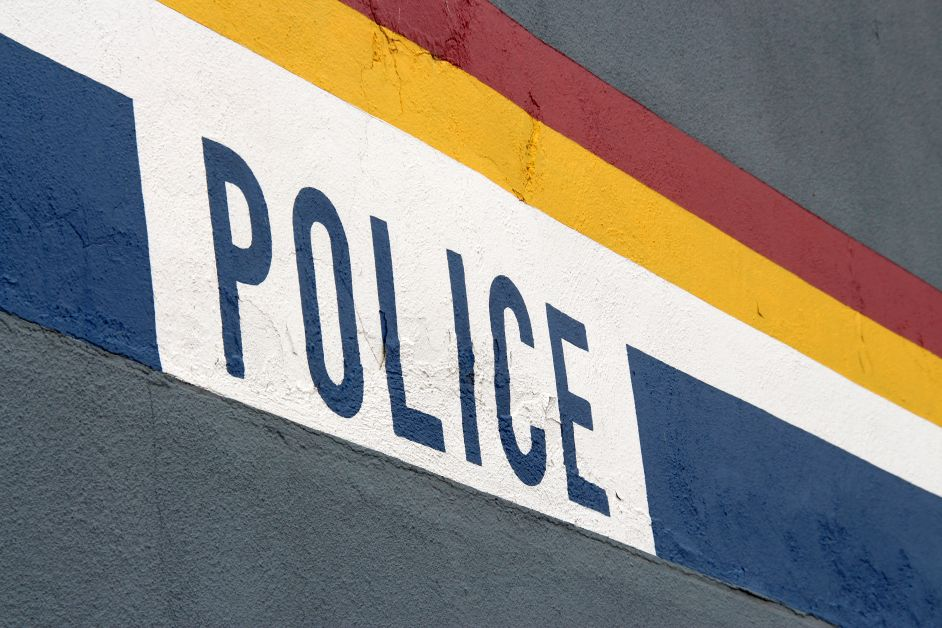 Copy of Copy of police sign building