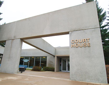 A Drumheller man has been sentenced to 18 months at the Drumheller Court House