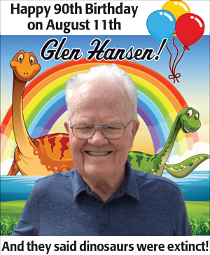 Happy 90th Glen