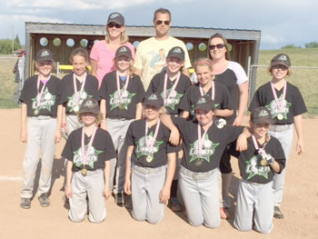 Drumheller girls participate in softball tournament