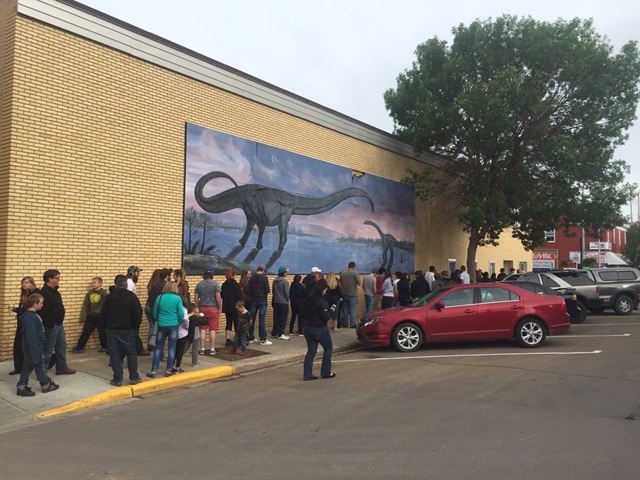 45 Minute Lineup for the new Jurassic World Movie at Napier Theatre